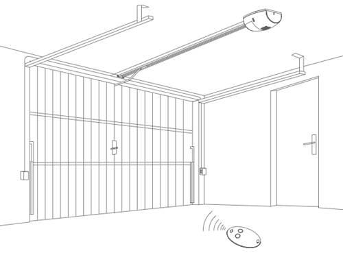 Подъемно поворотные гаражные ворота своими руками чертежи - всё о воротах и заборе