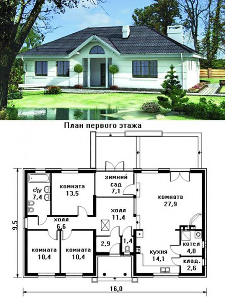 Одноэтажные дома (100+ фото): красивые проекты, идеи и дизайн