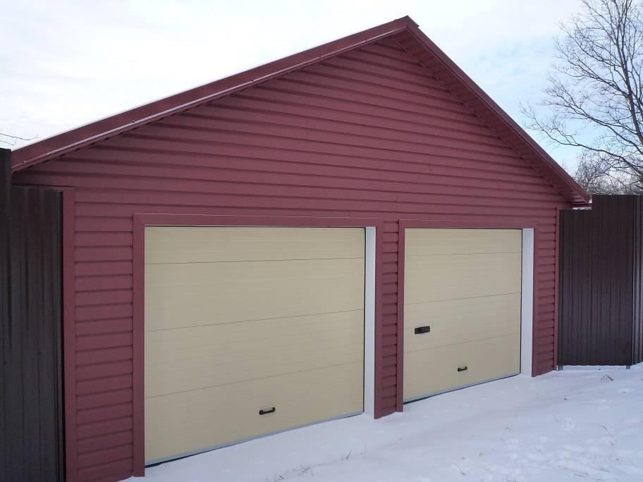 Чем обшить гараж снаружи