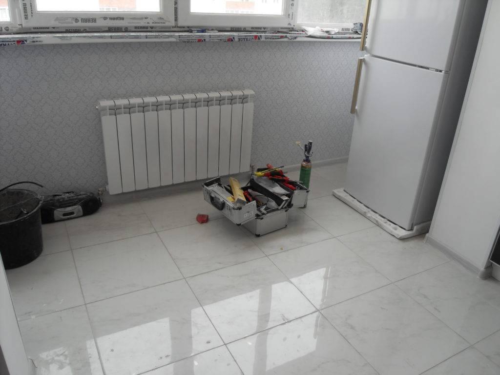 Вынос батареи на балкон: инструкция по установке радиатора