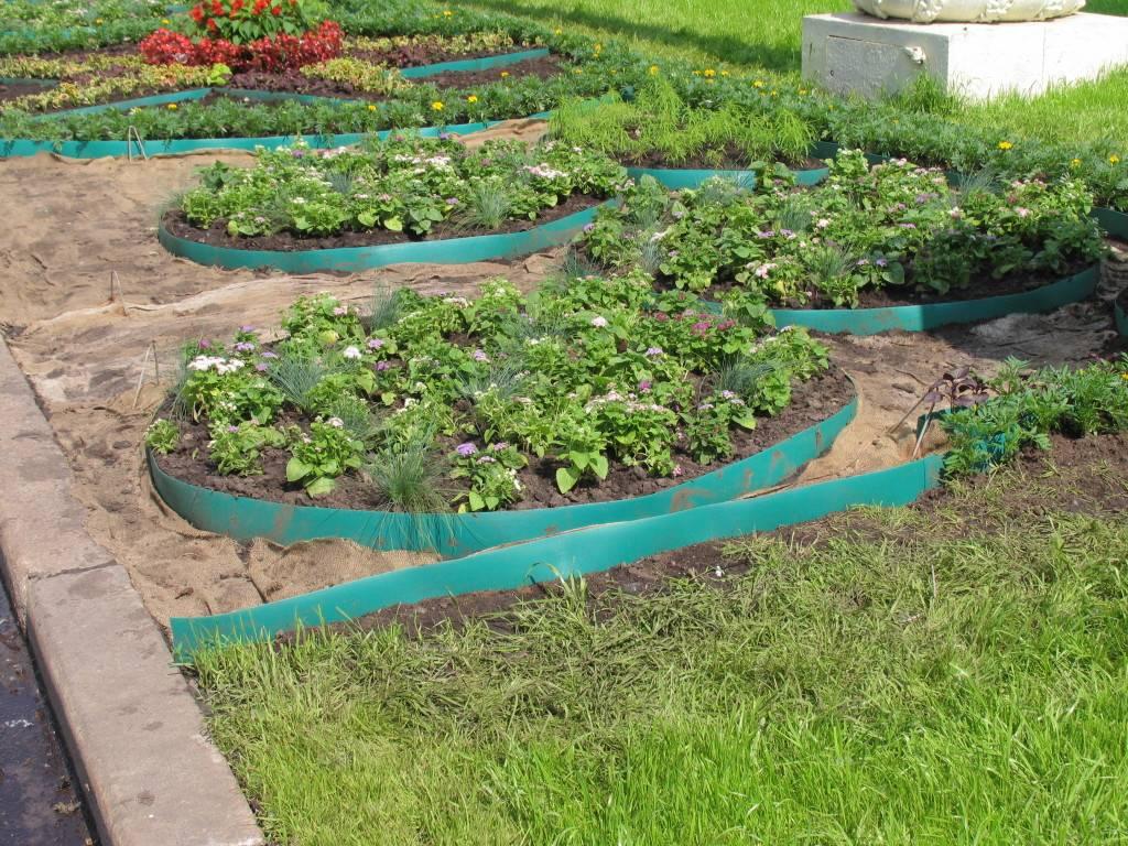Бордюрная лента для грядок: красивое обрамление садовых элементов – советы по ремонту