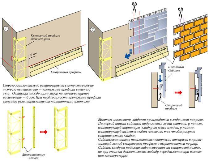 Технология монтажа винилового сайдинга своими руками: инструкция и видео
