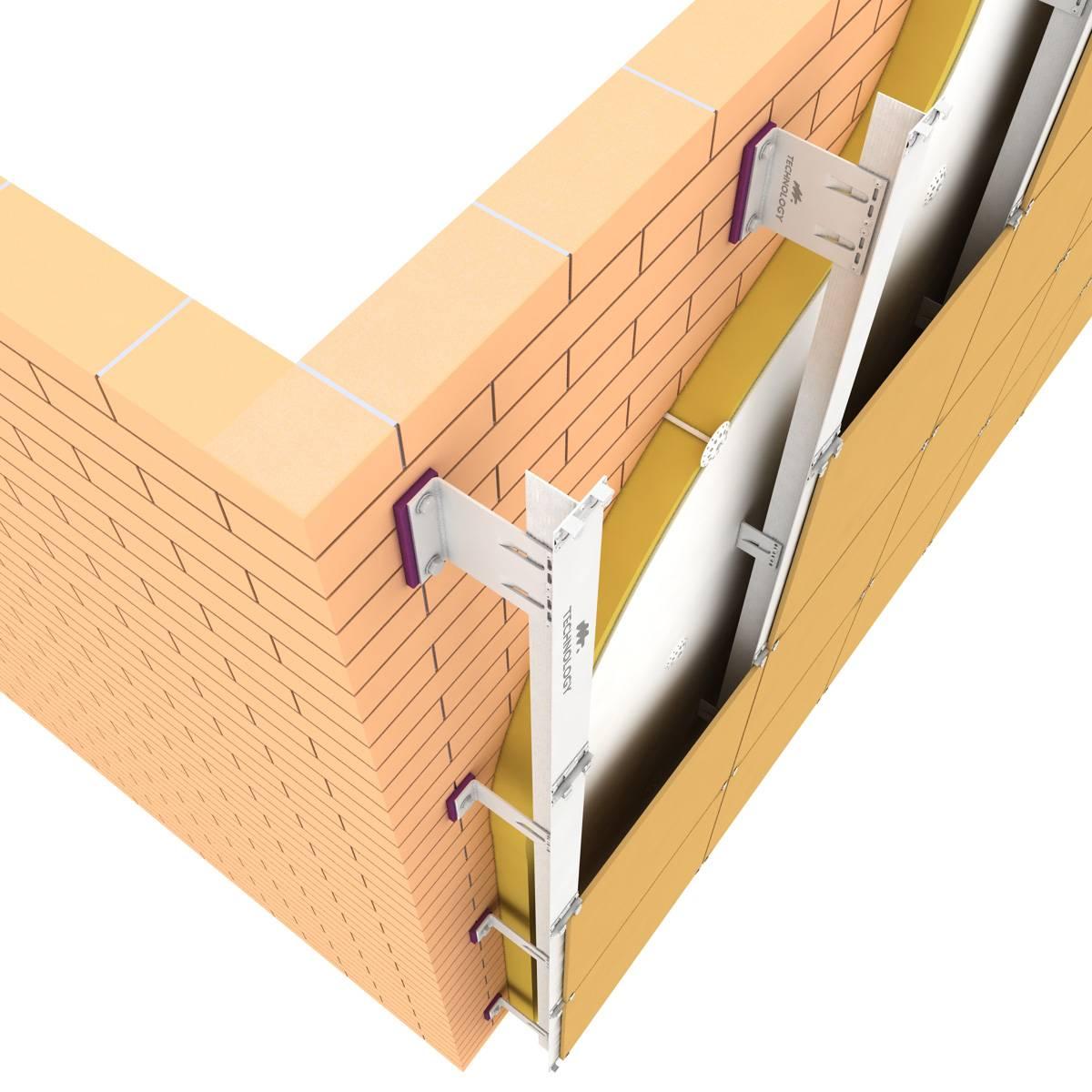 Подконструкции для вентилируемого фасада. обзор | портал фасадного рынка
