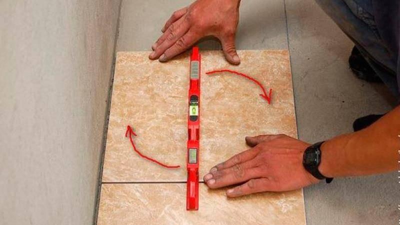 Подготовка поверхности для укладки плитки. что нужно сделать в первую очередь