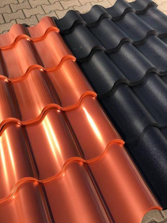 Крыша из металлопрофиля: виды металлопрофиля и способы его установки