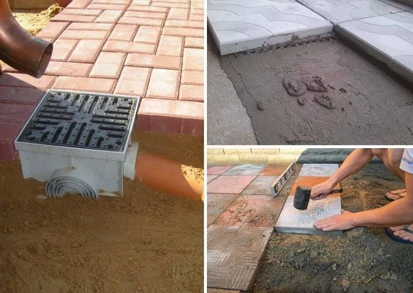 Как самостоятельно класть тротуарную плитку