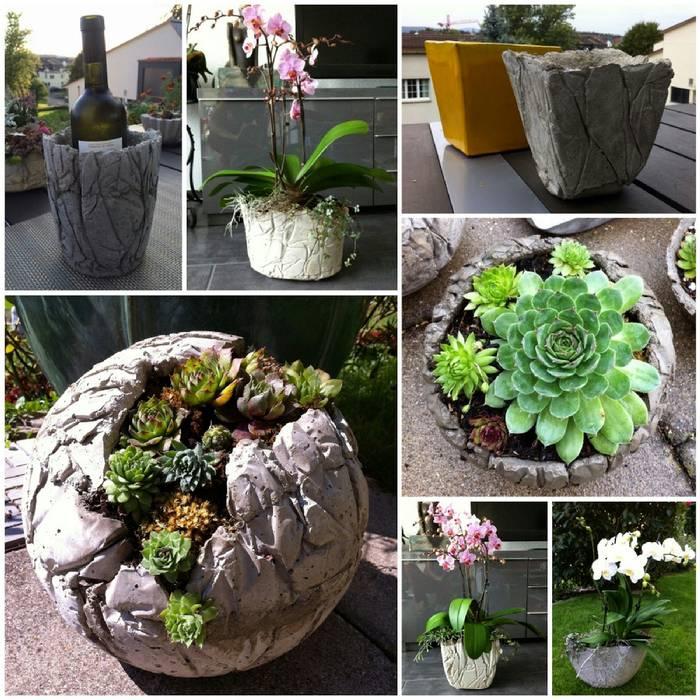 Как сделать вазон из бетона своими руками - «декор» » «дизайна интерьера»
