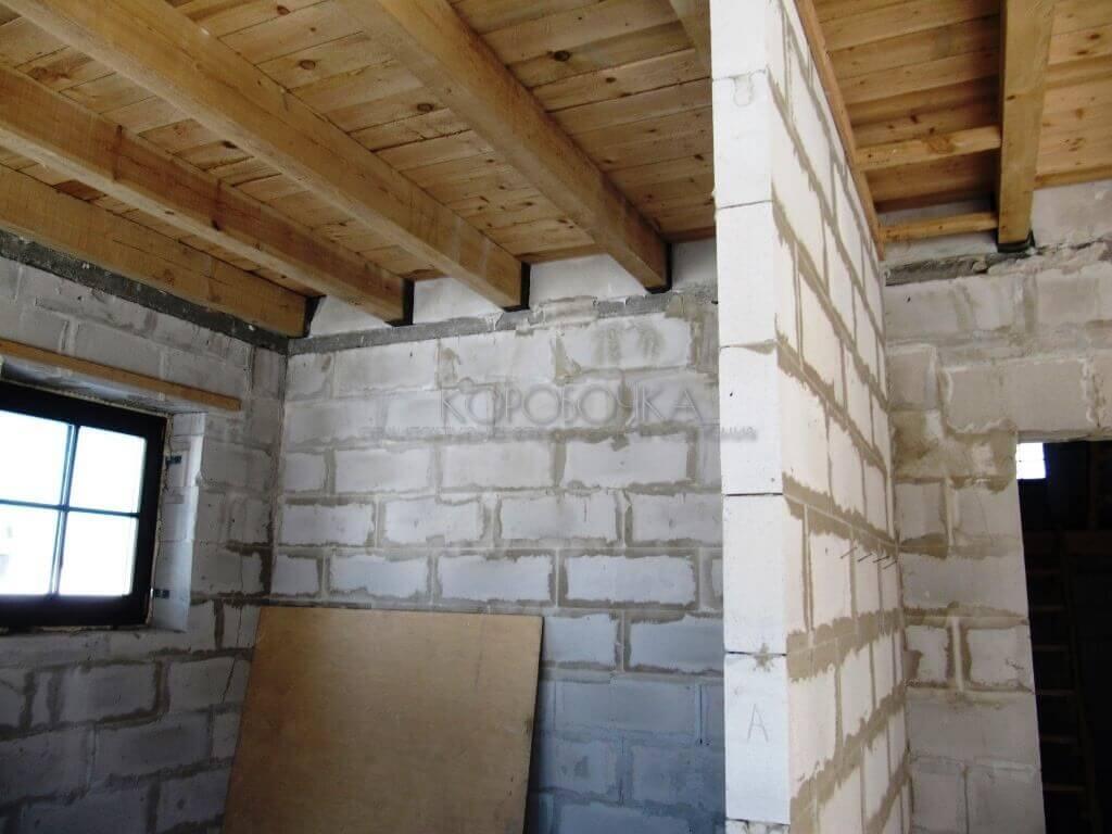 Отделка стен из газобетона внутри помещения - клуб мастеров