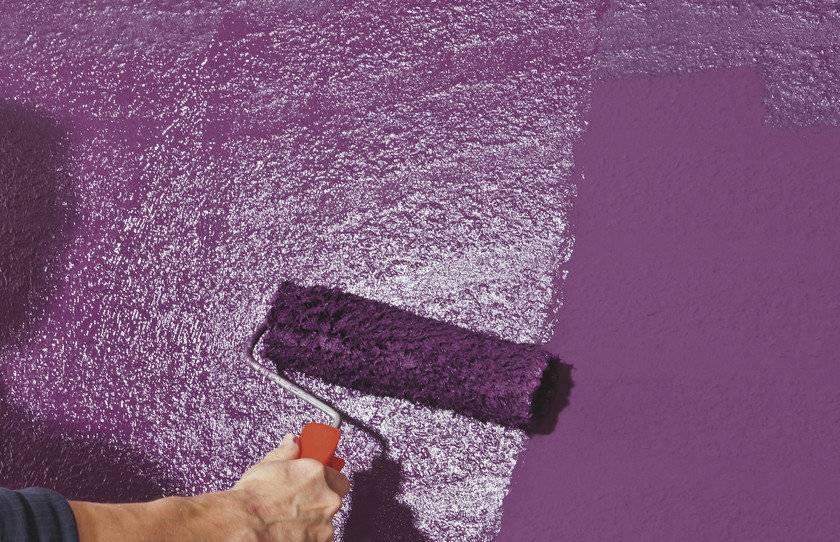 Фактурная краска – лучшие эффекты и процесс нанесения своими руками (120 фото)
