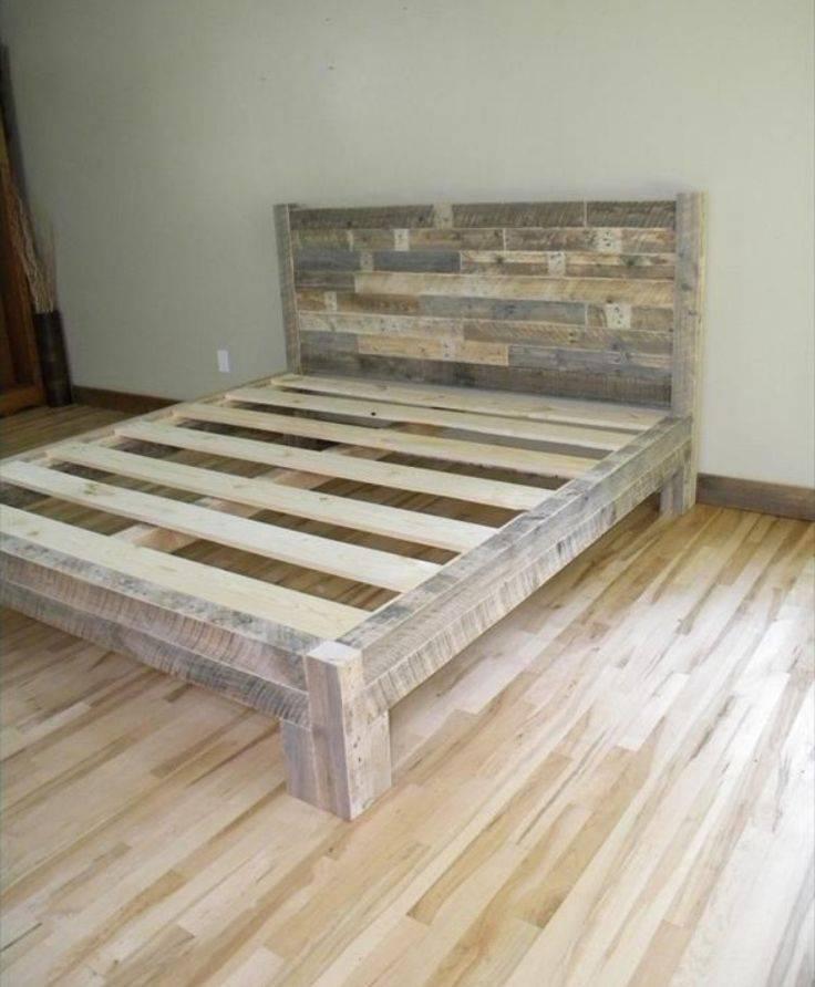 Нюансы изготовления и сборки двуспальной кровати своими руками