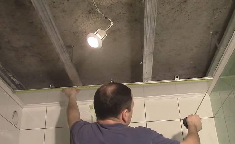 Каркас для потолка из панелей пвх - всё о ремонте потолка