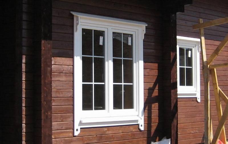 Как подобрать пластиковые наличники на окна?