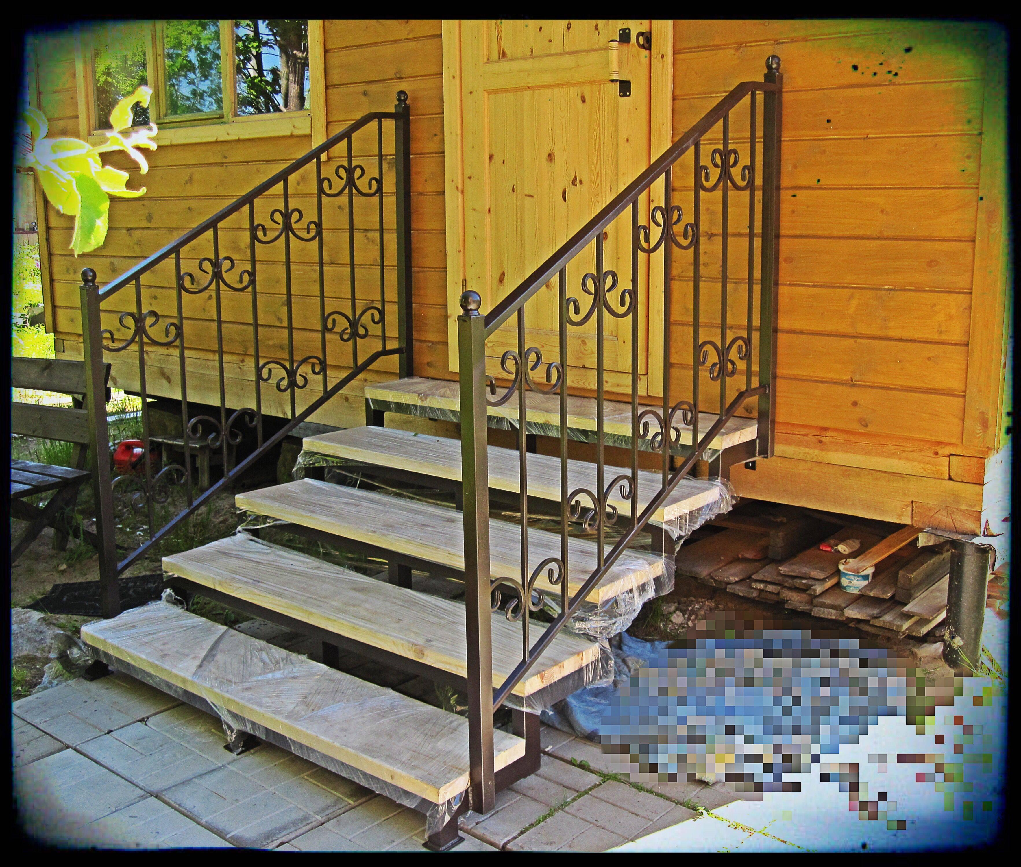 Лестница на крыльцо из дерева своими руками: этапы изготовления