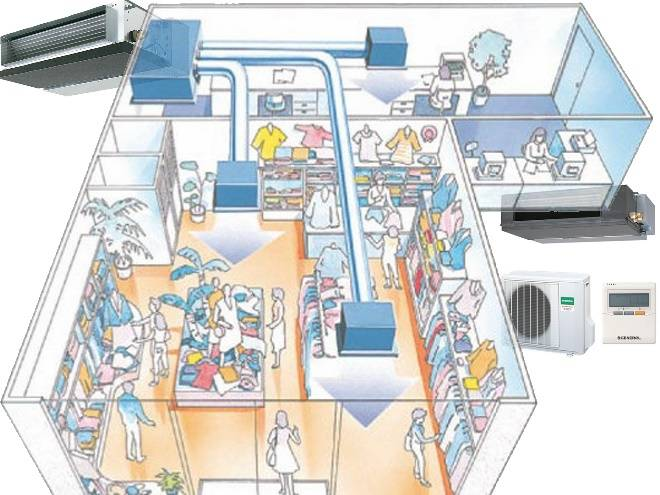 Вентиляция в торгово-развлекательных центрах