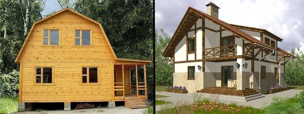 Подробно разберемся, какой дом все же теплее — каркасный или брусовой