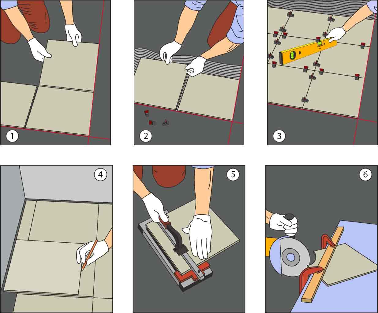 Укладка плитки без швов: рекомендации, советы специалистов