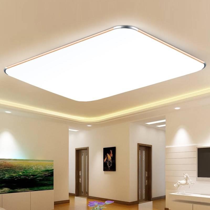 Выбор светильников для натяжных потолков.