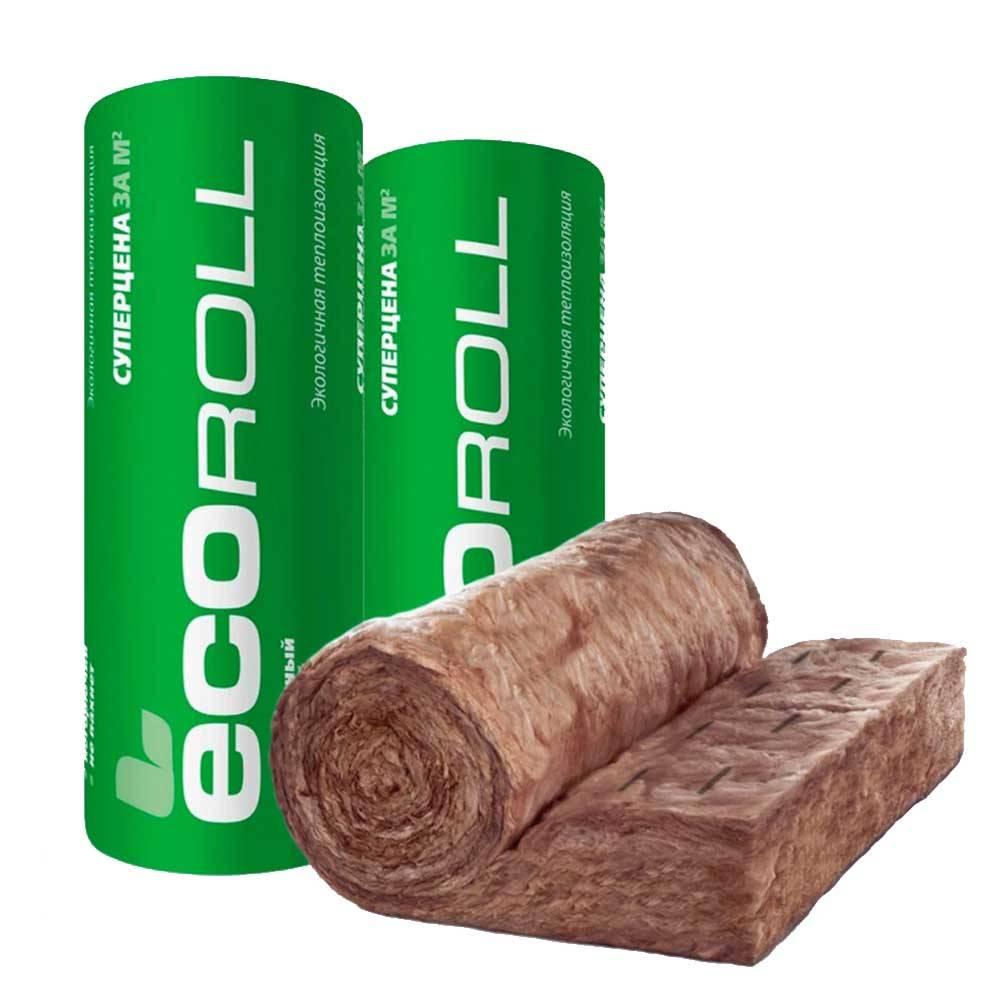 Экоролл теплоизоляция — обзор утеплителя | пивное строительство