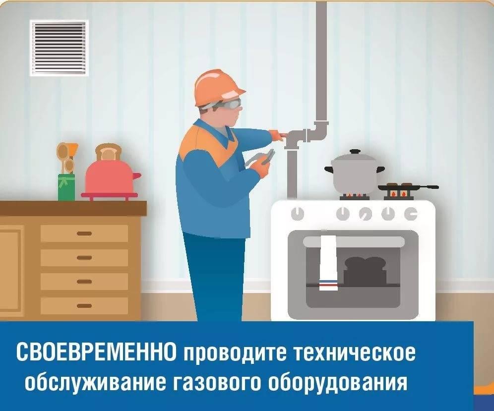 Техническое обслуживание газового оборудования в частном доме