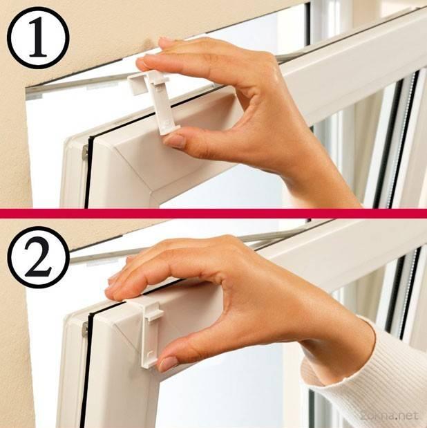 Установка жалюзи на пластиковые окна: как повесить