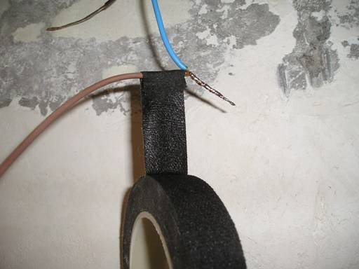 Можно ли скотчем изолировать провода