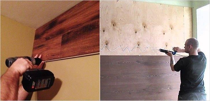 Как уложить ламинат на стене своими руками: нюансы укладки