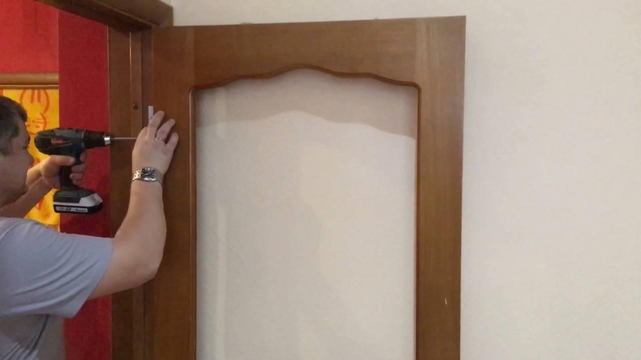 Как произвести замену стекла в межкомнатной двери своими руками? основные правила