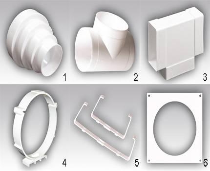 Пластиковые воздуховоды для вентиляции: разновидности, размеры элементов, особенности обустройства