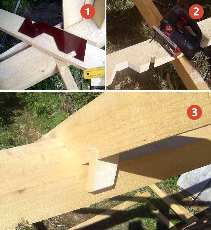 Крепление стропил — как правильно крепить стропила к мауэрлату (видео и фото)