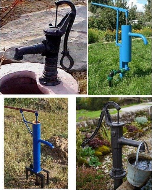 Ручной насос для воды из скважины: устройство ручного насоса, его установка, водяная помпа