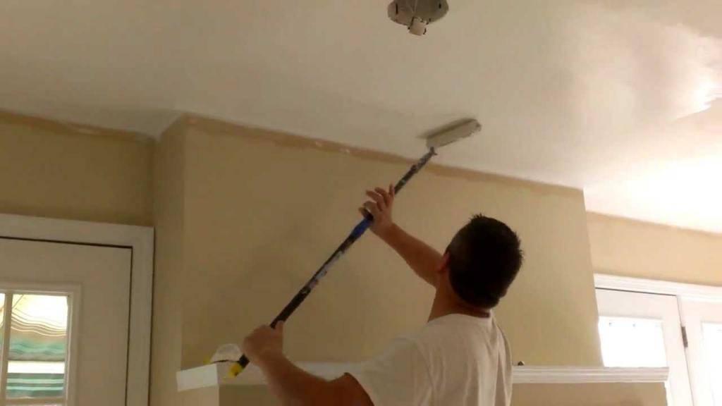 Краска для потолка из гипсокартона какая лучше. чем и как красить гипсокартон