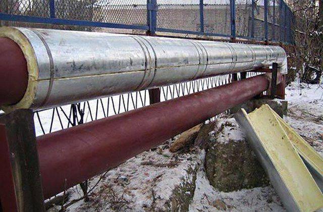 Трубы отопления: теплоизоляция на открытом воздухе