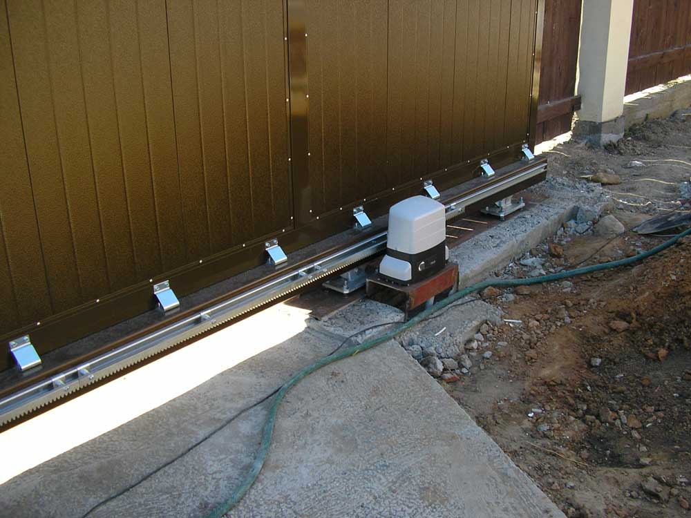 Автоматика для откатных ворот. сборка электрической схемы своими руками