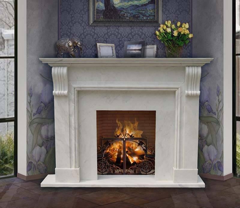 Порталы для каминов своими руками - украшение вашего дома