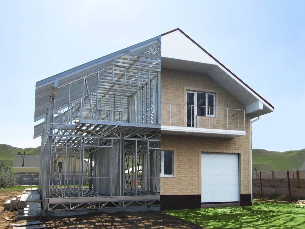 Дом из профилей. дома из металлопрофиля: что такое и как строить