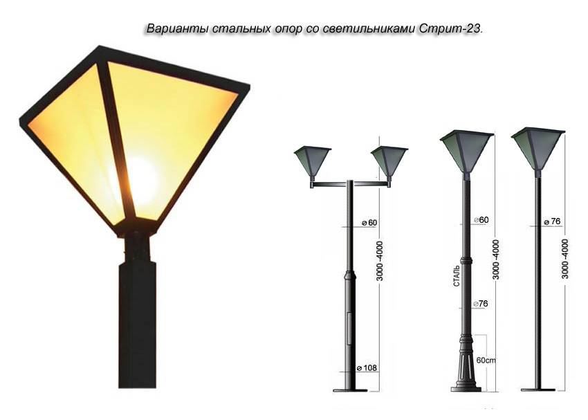 Освещение улиц - основные правила, выбор ламп, особенности монтажа
