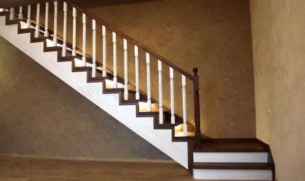 Облицовка лестницы деревом своими руками: варианты и методы отделки + фото
