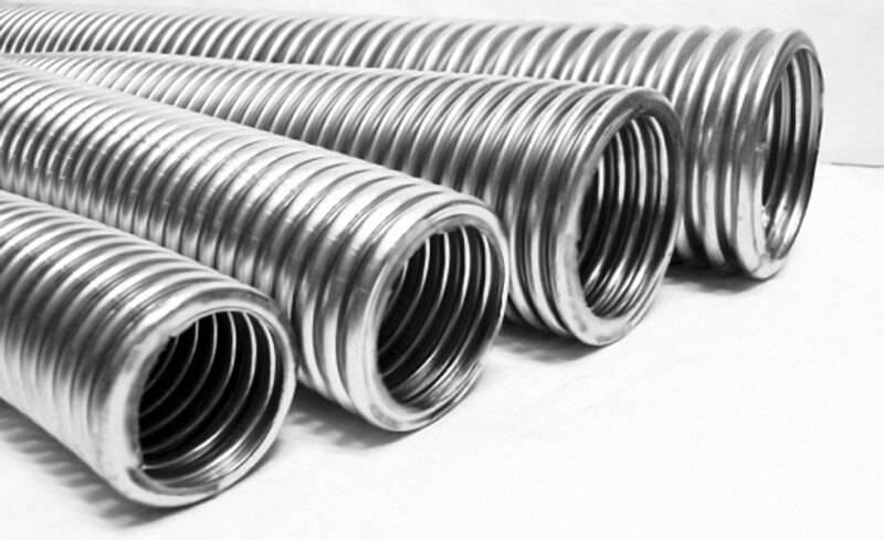 Гофрированные трубы: разновидности и сфера применения
