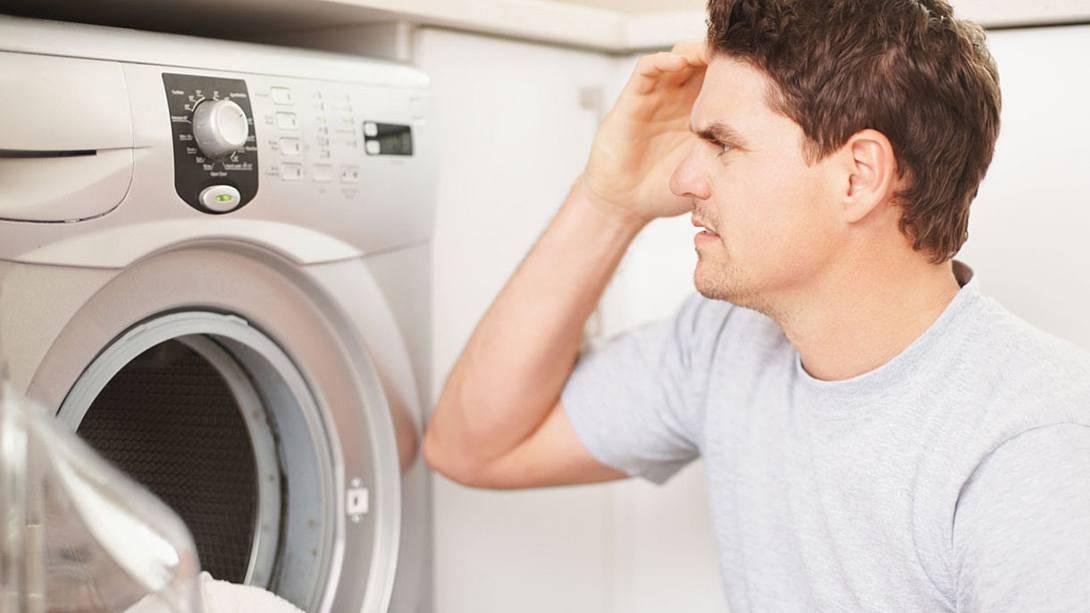 Из-за чего портится стиральная машинка