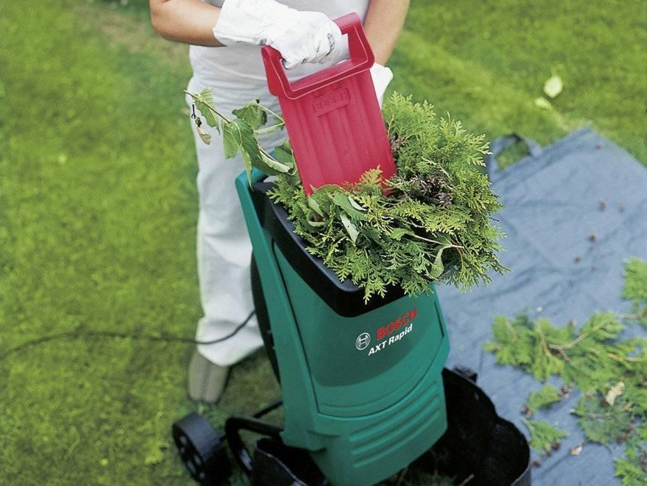 Садовый измельчитель какой выбрать: обзор и критерии садовых измельчителей для травы и веток