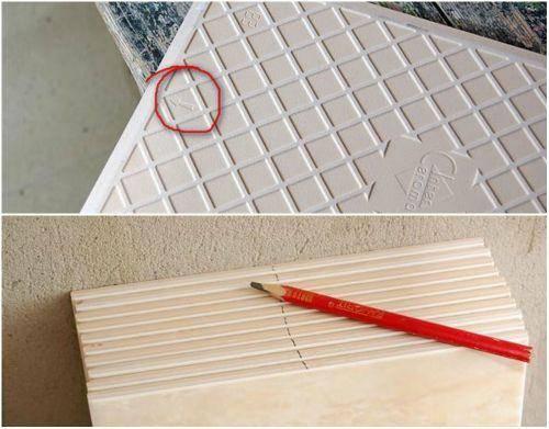 Стрелки на плитке керамической зачем