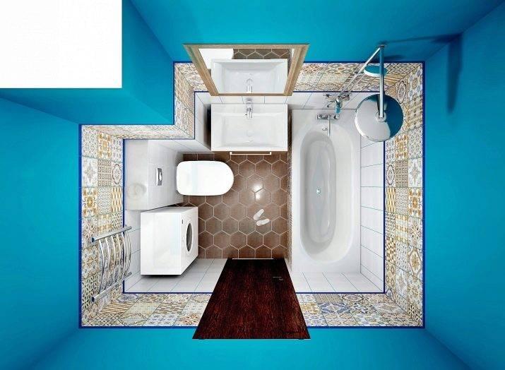 Дизайн и планировка ванной комнаты 3 кв.м: как уместить все необходимое (+ фото)