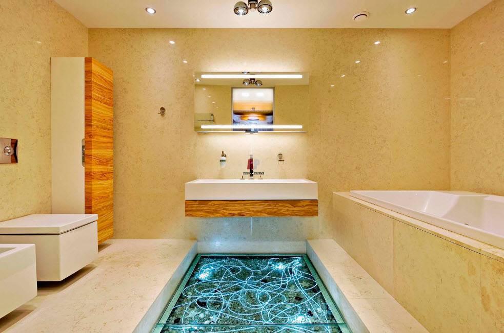 Отделка ванной: варианты, материалы, технология