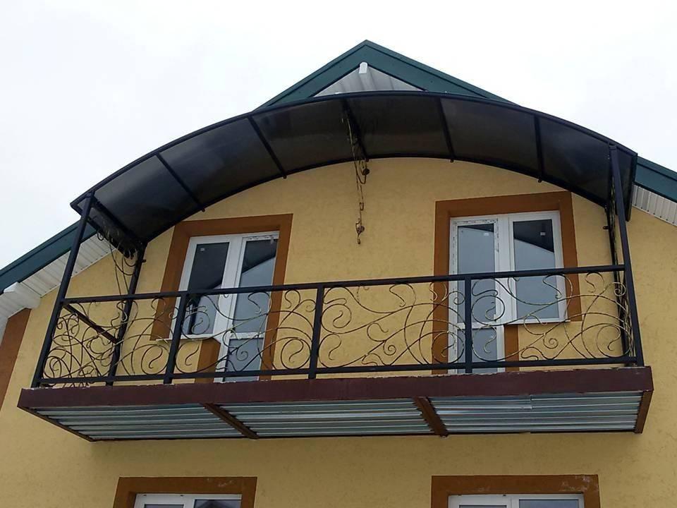 Крыша балкона своими руками - крыша на балконе | стройсоветы