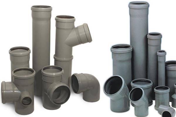 Размеры раструбов канализационных пвх труб