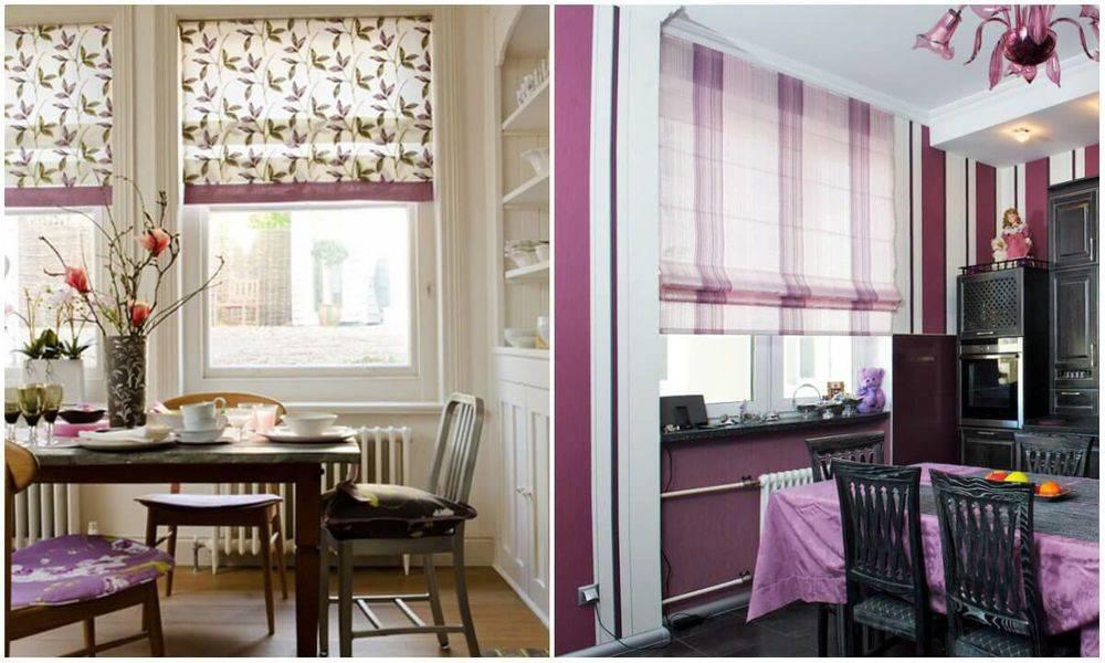 Шторы на кухню – 100 фото, дизайн-подсказки и гид по выбору
