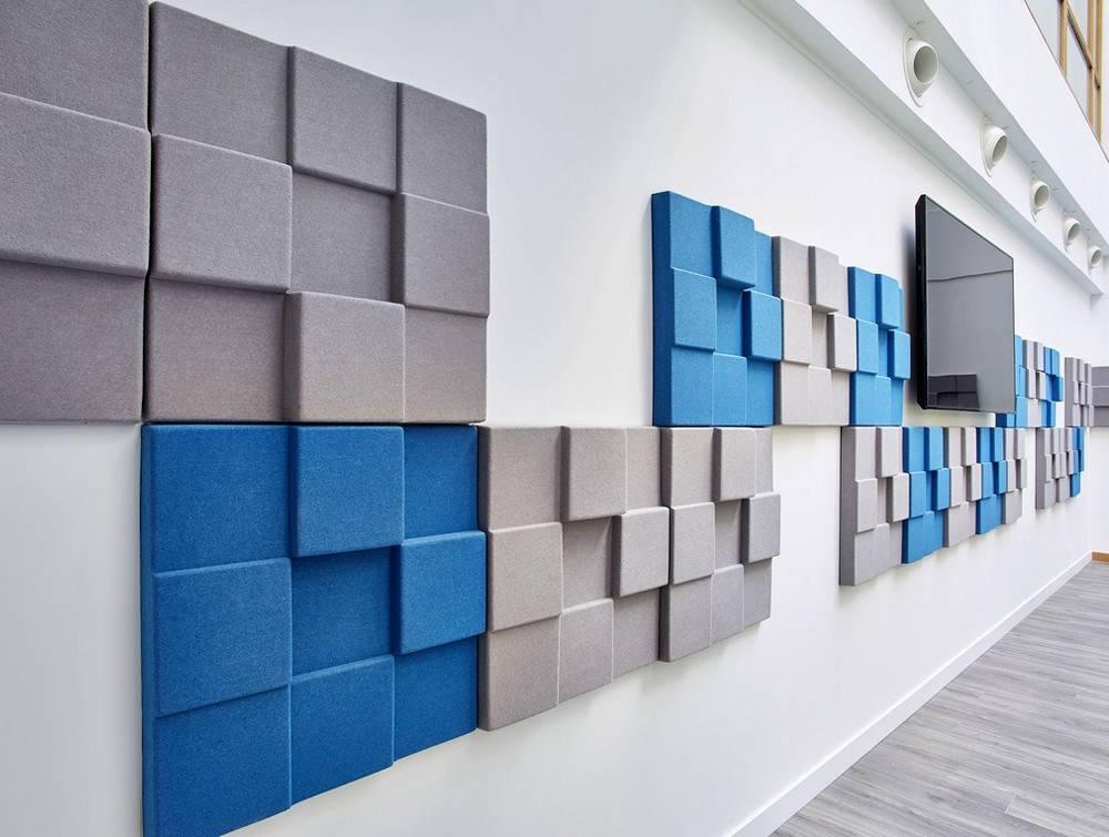 Звукоизолирующие панели для стен: виды, характеристики, сравнение