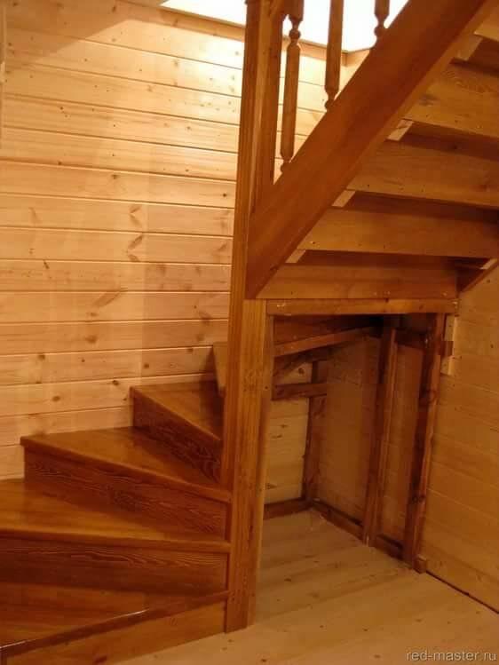 Тетива для лестницы - модели, размеры и способы креплений своими руками