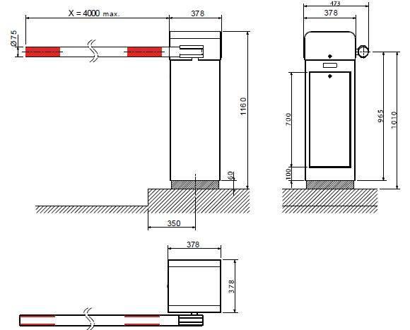 Установка шлагбаума во дворе жилого дома: правила и получение разрешения