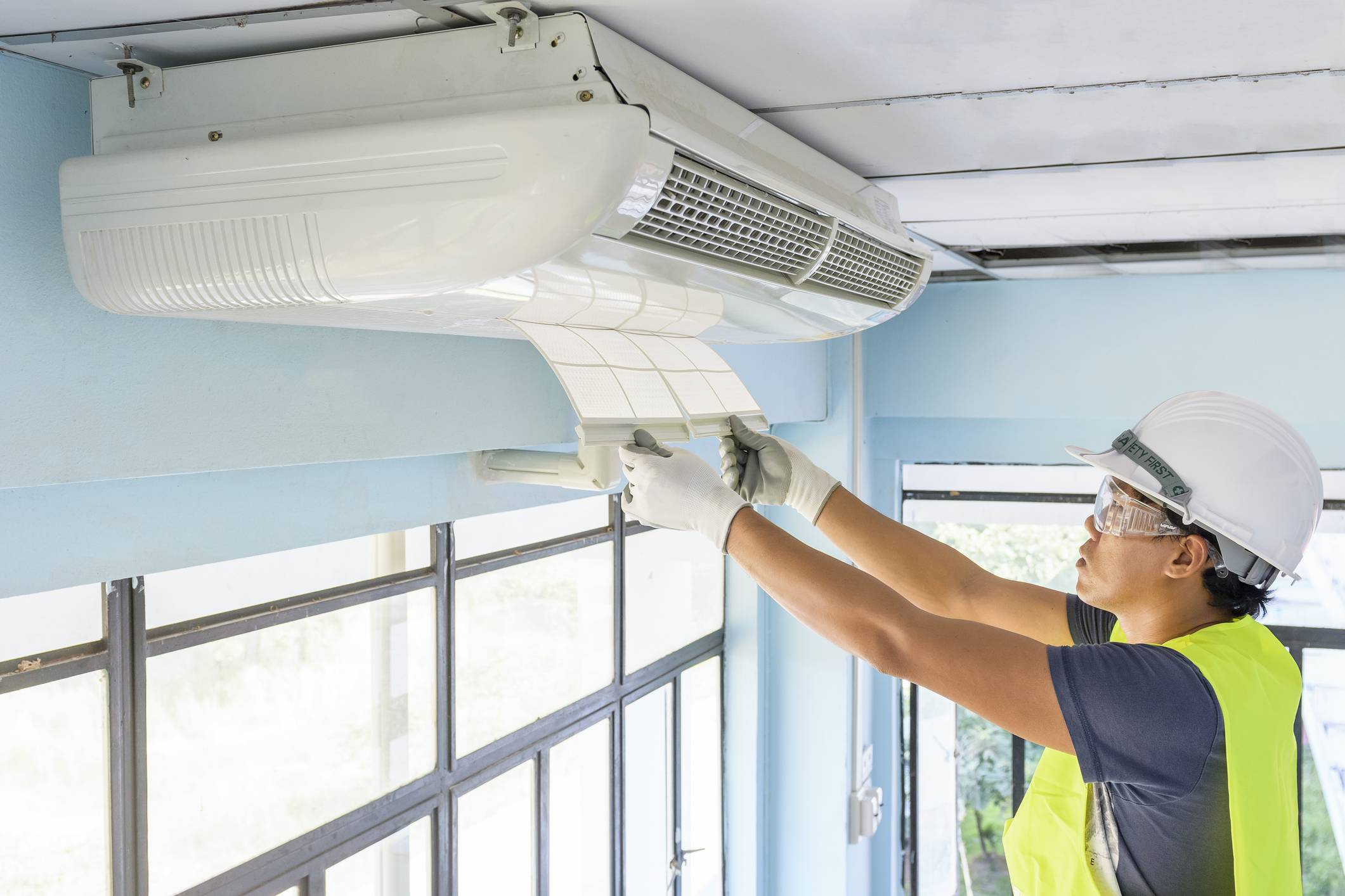 Как работает кондиционер в режиме охлаждения и нагрева воздуха